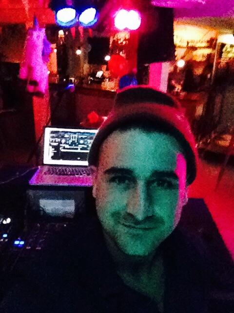 DJ'ing at Sawol OSLO